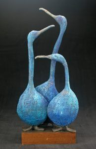 Gallery – Josefine Art – Famous Last Words Paper Mache Sculpture, Pottery Sculpture, Bird Sculpture, Animal Sculptures, Pottery Art, Raku Pottery, Clay Birds, Ceramic Birds, Ceramic Animals