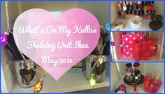 What's On My Kallax Shelving Unit Ikea May 2015 | AJW - YouTube