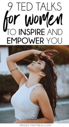 If there's one thing that can inspire and empower you like nothing else it's a good TED Talk, one that gets you thinking and challenging your point of view. These are 9 TED Talks for women that range from what we think of our selves through to ou Boss Babe, Girl Boss, Career Change, Self Improvement Tips, Independent Women, Successful Women, Best Self, Marketing Digital, Personal Development