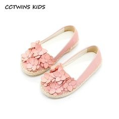 Click to Buy    CCTWINS KIDS 2017 Children Fashion Flower Strap Shoe Kid.    1a424d602b34