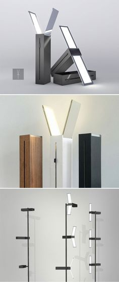 Gaya - OLED Lamp by Bart Bouman. The design impresses with its minimalist language and the classy combination of function and aesthetics.