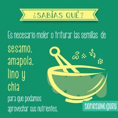 #SabíasQue Pequeñas medidas que llevan a grandes resultados?  #semilla #AlimentaciónSaludable