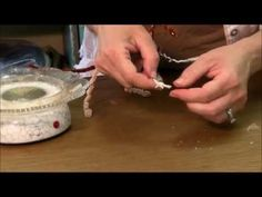 BEST TUTORIAL EVER ON MAKING FINGERS ▶ How To Needle Felt - Tiny Fingers: Sarafina Fiber Art Episode 6 - YouTube
