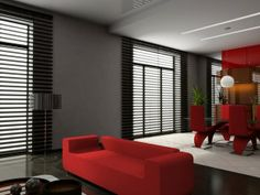 Decoration, What Is The Function Of Black Window Blinds? By www.pbstudiopro.com