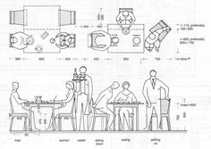 If you are looking for standard dining table dimensions metric you've come to the right place. We have 17 images about standard dining table dimensions Restaurant Layout, Restaurant Design, Restaurant Seating, Restaurant Furniture, Restaurant Restaurant, Architect Data, Pub Table And Chairs, Room Chairs, Bar Tables