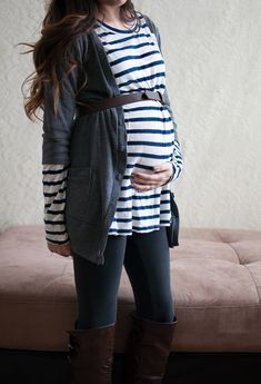 Winter maternity wear