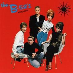 1980, The B-52's released their second album, Wild Planet.