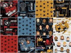 "Star Trek 10"" Squares - Camelot Design Studio - Camelot Fabrics — Missouri Star Quilt Co."