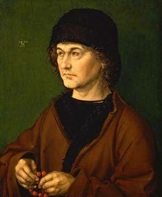 Portrait de Dürer - père, Albrecht Dürer, 1490, Galerie des Offices, Florence
