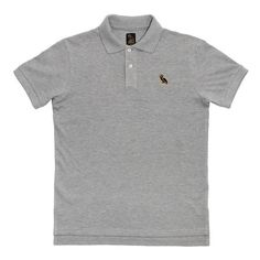 Owl Polo SHORTSLEEVE POLO SHIRT October's Very Own ($88) ❤ liked on Polyvore featuring tops, short sleeve tops, short sleeve polo shirts, polo tops, polo shirts and owl top