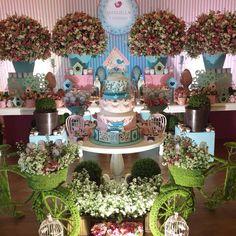 Table Cake - Garden