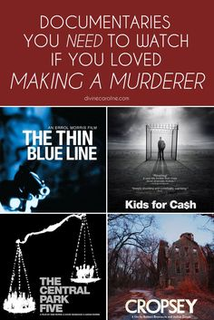 Did you watch an episode of Netflix's Making a Murderer, become instantly hooked, binge-watch all 10 episodes, then call in sick for a week straight so you could independently investigate alternative suspects? Same. If you're having true-crime withdrawals, here are some more must-watch documentaries to start streaming today.