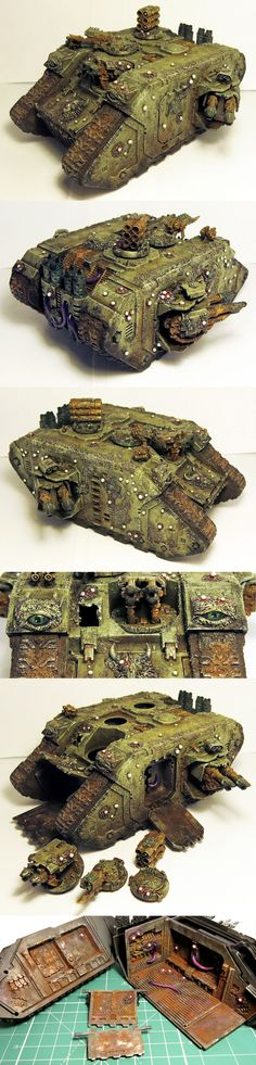 Land Raider of Nurgle