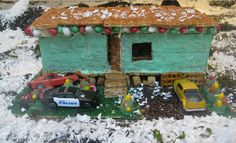 Trailer Gingerbread House | Trailer Park Gingerbread House Project | Quipster