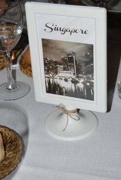 Segna tavolo per matrimonio - Table number for wedding