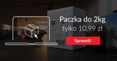 Tania paczka pocztowa do 2 kg za 10,99 zł, Paczka do 5 kg za 16,99 zł. Przesyłki nadajesz z komputera a listonosz Poczty Polskiej dostarcza je na czas.