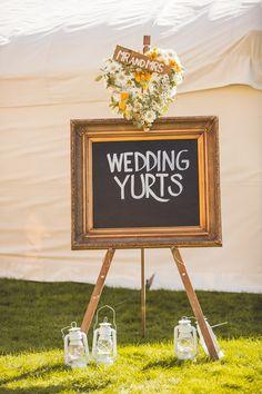 wedding yurts at wedfest