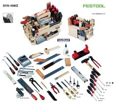 Fluffy Power Tools The Family Handyman Festool Tools, Festool Systainer, Tool Workbench, Workshop Storage, Shed Storage, Tool Storage, Dewalt Storage, Electrical Hand Tools, Tool Tote