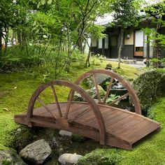 Japanese Garden Design, Garden Landscape Design, Wooded Backyard Landscape, Patio Pond, Diy Pond, Landscape Edging, Japanese Gardens, Wooden Garden, Cedar Garden