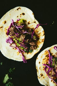 Pickled Beef Tacos with Charred Avocado Salsa | Not Without Salt | Bloglovin'