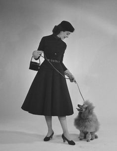 Photographer Nina Leen, 1950s Couture / simple dreams...