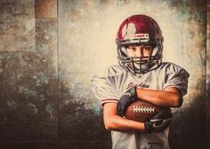 Really cool, good looking kid. Awesome football player. Didn't want to share.
