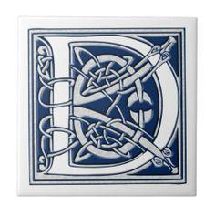 Celtic D Monogram