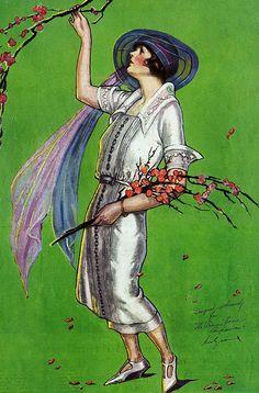 Art Deco Darling - Ruth Eastman illustration