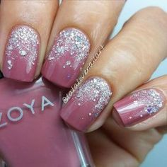 Glitter nail designs are always a good choice for the winter time, especially around the holidays. The New Year's Eve is all about sparkles and glitter, so your nails should not be exception to this. They will spice up your glamorous look for this special night. Choose the colors that will match with your outfit and decide if you will go with an all glitter nail design, or combined with some other nail polish. The glitter nail designs can be really beautiful, but it can be quite tricky…
