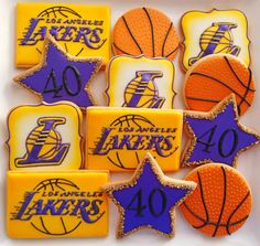 57 Ideas for basket ball birthday party cakes lakers 24th Birthday, 1st Birthday Parties, Birthday Ideas, Basketball Cookies, Basketball Crafts, Basketball Shirts, Kobe Bryant Birthday, Basketball Birthday Parties, Cute Cookies