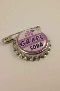 Hey, I found this really awesome Etsy listing at https://www.etsy.com/listing/110241928/grape-soda-pin-badge