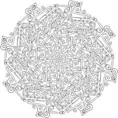 Krita Mandala 6 by WelshPixie on DeviantArt