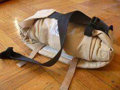 Lindsay  Company: how to fold an ergo carrier