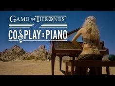 Game of Thrones - Cosplay Piano - Ep 4 - I love the theme song and this cosplay is fantastic!