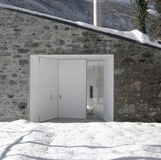 Wespi & de Meuron. House Renovation in Mergoscia, Ticino, Switzerland. 2007