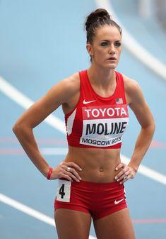 Team USA Olympic Hurdler, Georganne Moline.