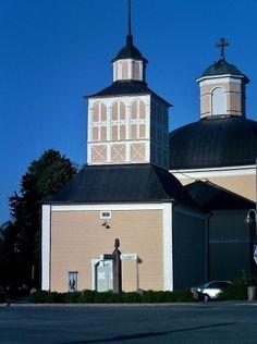 Church bell tower. - Kurikka, South Ostrobothnia province of Western Finland.