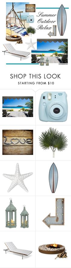 """""""Summer Outdoor Relax"""" by glennv ❤ liked on Polyvore featuring interior, interiors, interior design, home, home decor, interior decorating, Pier 1 Imports, Skargaarden and summeroutdoordiningbestrelax"""