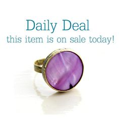 Daily Deal  on 20 sale today Purple Mother by EVIsMetalworkJewelry, €24.00