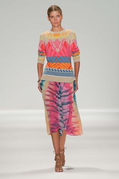 Mara Hoffman Spring 2014 RTW. Just the sweater!