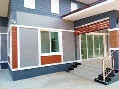 บ้านชั้นเดียว สไตล์โมเดิร์น ขนาด 3 ห้องนอน สำหรับคริบครัวใหญ่ งบ 990,000 บาท - บ้านถูกดี
