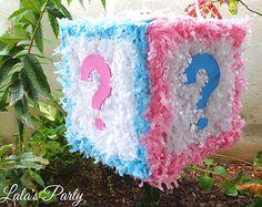 El género revela Cube Hit Ducha Piñata bebé