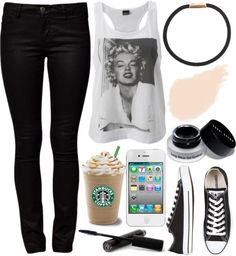 """Yes, I've changed. Pain does that to people."" by its-mary ❤ liked on Polyvore"
