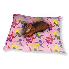 Uneekee Orchid Color Dog Pillow Luxury Dog / Cat Pet Bed