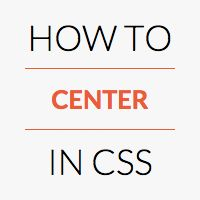 Centering in CSS is a pain in the ass. There seems to be a gazillion ways to do it, depending on a variety of factors. This consolidates them and gives you the code you need for each situation. Latest News & Trends on #webdesign and #webdevelopment | http://webworksagency.com