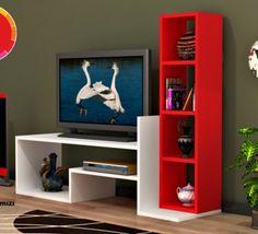 Tv Cabinet Design, Tv Wall Design, Wall Shelves Design, Tv Unit Decor, Tv Wall Decor, Tv Unit Furniture Design, Home Decor Furniture, Tv Wanddekor, Tv Stand Decor