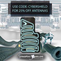 Our Cyber Monday SUPER SALE is LIVE!  Don't Miss the Best Discounts of the Year for Cell Phone Radiation Protection!  Our New, SAR Laboratory Tested, SHIELD ANTENNA is 25% Off through December 5th!    Purchase something Valuable for your Future Health at stingrayshields.com