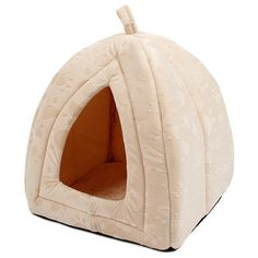 Cat Bed - Cozy Castle Style Luxury House Bed For Cats - Cove Cotton