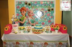 Frozen Fever 5th Helena   CatchMyParty.com