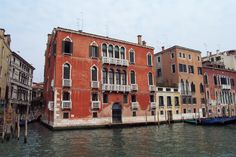 Palazzo Giustinian Persico -- Grand Canal, Venice, Italy Old Town Italy, Pictures Of Venice, Grand Canal Venice, Ravenna, Trieste, Architectural Elements, Venice Italy, Public Art, Italy Travel